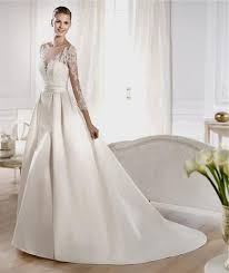 wedding gowns with sleeves a line wedding dress lace sleeves naf dresses