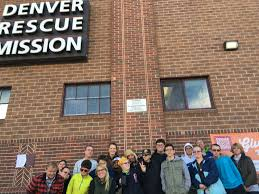 thanksgiving and blessings at the denver rescue mission the arc