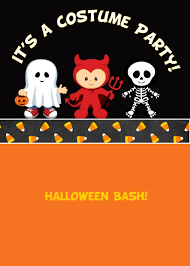 free printable about halloween birthday party invitations