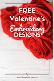 10 free valentines machine embroidery designs for you to stitch