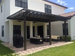modern pergola residential florida pergola