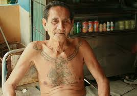 31 impressive old people with tattoos creativefan
