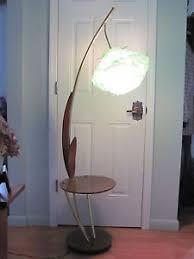 Vintage Retro Floor Lamp Vintage Retro Mid Century Modern Spaghetti Lucite Cattail Floor