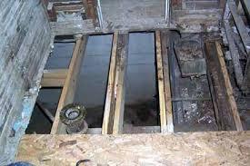 Rotten Bathroom Floor - replace bathroom subfloor cost kitchen joists by lemonhalf on