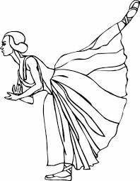 printable ballet coloring pages coloring