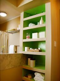 uncategorized bathroom storage ideas built in shelves image