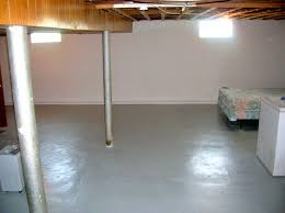Unfinished Basement Floor Ideas Basement Basement Floor Ideas Painting Indoor Concrete Floors