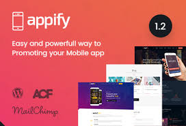 appify multipurpose one page mobile app landing page wordpress theme