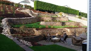 make an ugly hillside beautiful with retaining walls mutual