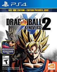 amazon com dragon ball xenoverse 2 playstation 4 day one