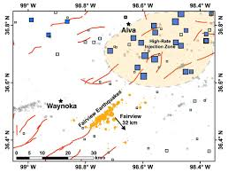 Pawnee Oklahoma Map Wastewater Disposal Likely Induced February 2016 Magnitude 5 1