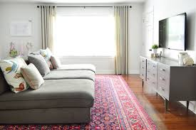 Living Room Bonus - how we shop for rugs what to look for how to save money