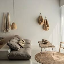 home furniture interior design minimal linen wood organic interior decor and design home