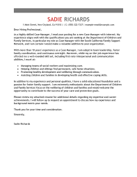 child protection social worker cover letter