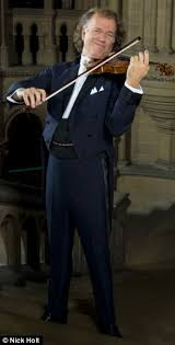 Blind Violinist Famous Andre Rieu He U0027s The 63 Year Old Violinist Who For Ladies Of A