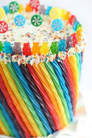 rainbow cake rainbows mostly cakes pinterest rainbow