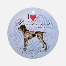 german wirehaired pointer ornament cafepress