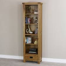 furniture home fancy narrow bookcase with doors 88 for mainstays