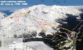 map of santa santa caterina valfurva piste map trail map