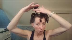 ponytail shag diy haircut diy 4 ponytail layered hair style youtube