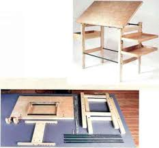 Plan Hold Drafting Table Drafting Table For Shop Or Home Designing Furniture