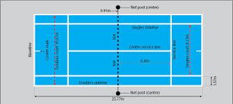 Table Tennis Dimensions Tennis