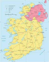 Map Ireland Ireland Map Europe