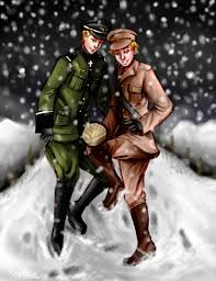 aph christmas truce by thecarefree on deviantart