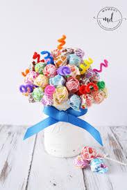lollipop bouquet candy bouquet lollipop dum sucker diy centerpiece