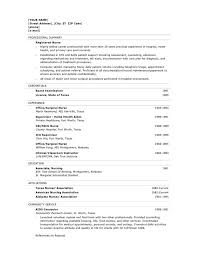 Good Resume Objectives Samples by Nursing Resume Objectives Berathen Com
