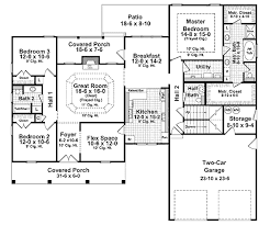 European Floor Plans European Style House Plan 3 Beds 2 50 Baths 2060 Sq Ft Plan 21 297
