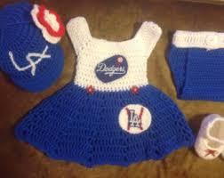 Dodger Crib Bedding by Baby La Dodgers Set Etsy
