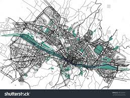 Map Of Florence Italy Vector Map City Florence Italy Stock Vector 692126434 Shutterstock