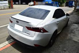 lexus is300 for sale brunei carbon fiber for lexus is250 is350 b type rear trunk lip wing