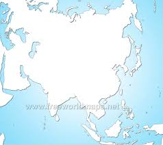 Blank Map Of North Africa by Asia Blank Map