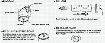 butane torch won t light general refilling instructions for vector butane lighters