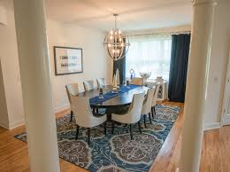 Arhaus Area Rugs Zgallery Method New York Transitional Dining Room Inspiration With