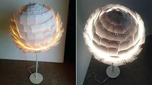 Paper Table Lamp Paper Table Lamps Paper Table Lamp Shade Plus Single Legs In White