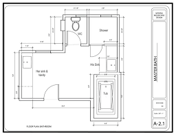 8 x 12 master bathroom floor plans and with walk in showe home