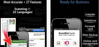 App For Scanning Business Cards Best Ios Apps To Replace Physical Business Card Save Paper