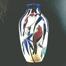 Deco Vase Keramis Charles Catteau Art Deco Vase