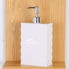 Modern Bathroom Soap Dispenser by Modern White Plastic Bathroom Liquid Soap Dispenser