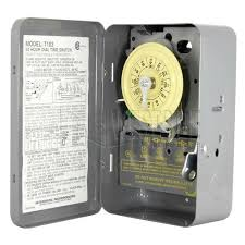 24 hr timer light switch intermatic t103 mechanical timer switch 24 hr intermatic light