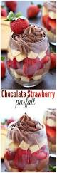 After Dinner Ideas Chocolate Strawberry Parfait Recipe