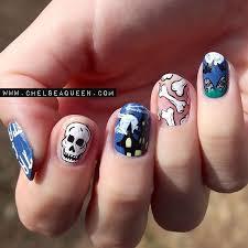 67 best halloween nails images on pinterest halloween nail art