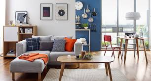 modern dining room tables and chairs integrated with living area