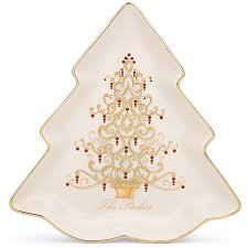 golden tree plate gifts