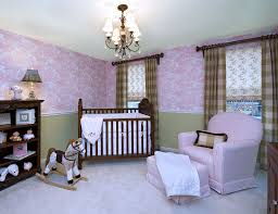 Pink Curtains For Nursery by Witching Design Ideas Of Pink And White Baby Nursery