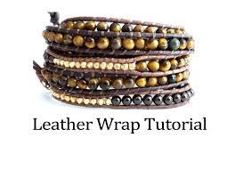 wrap bracelet tutorials images 57 wrap around bracelet tutorial leather wrap bracelet tutorial jpg