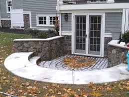 walk out basement retaining walls steps garden pinterest